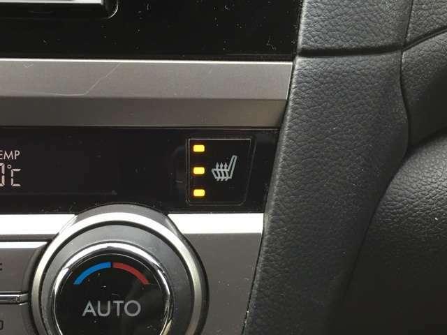 「シートヒーター」 シートの座面を温めるシートヒーターを全席に装備♪