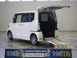 ホンダ N-BOX+ 660 カスタムG 車いす仕様車 4WD 福祉車両 車いす固定 パワ―スライドドア