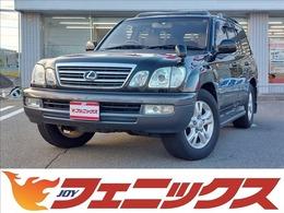 トヨタ ランドクルーザーシグナス 4.7 4WD サンルーフ 本革シート デフロック