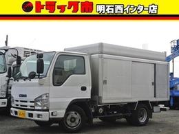 いすゞ エルフ ボトルカー 須河車体製 積載量2000kg 左右スライドドア バックカメラ