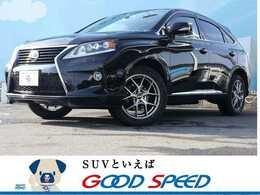 レクサス RXハイブリッド 450h バージョンL エアサスペンション 4WD マクレビ サンルーフ 本革 プリクラ 後席M