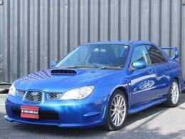 スバル インプレッサ 2.0 WRX WRリミテッド 2005 4WD アプライドF型 5速マニュアル 大型スポ