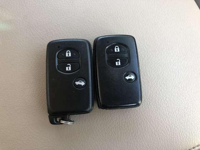 『スマートキー』鍵をカバンやポケットから取り出さなくても鍵の開閉ができます!!