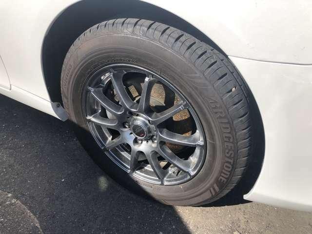 『装着タイヤ』 夏タイヤです!! お車の整備費用も本体価格に含まれております!!点検時の交換部品等も料金に含まれております!!