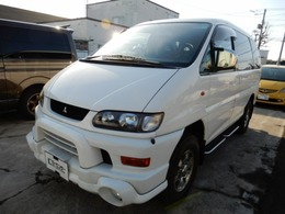 三菱 デリカスペースギア 3.0 シャモニー ハイルーフ 4WD リフトUP