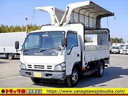 いすゞ エルフ 幌ウイング セミロング ワイド 3t 小型 6MT