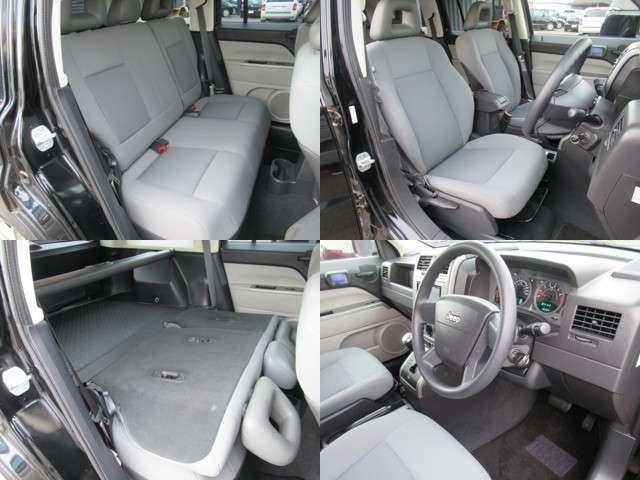 クライスラーパトリオット最終型の希少SUVブラックコンパクトで人気のグレーモケットツートンシート内装で 綺麗に仕上がってます、