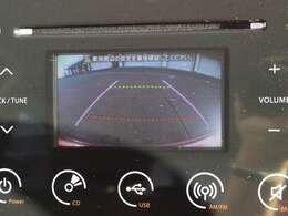 バックカメラも搭載しているので駐車時も楽々停めれますよ♪
