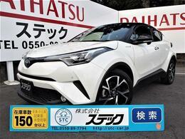 トヨタ C-HR ハイブリッド 1.8 G 純正メモリーナビ・フルセグTV・Bluetooth