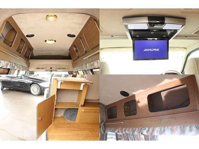 メインサブ切替スイッチ 後席モニター 照明 各収納スペースも豊富となります。