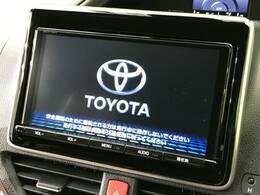 【純正9型ナビ】CD機能やフルセグTV視聴も可能ですので、ドライブもとても楽しくなりますね☆TVキャンセラーもオプションで注文可能です♪
