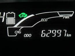 走行距離はおよそ63,000kmです。