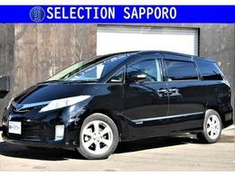 トヨタ エスティマハイブリッド 2.4 G レザーパッケージ 4WD 電動バックドア/3列目電動格納シート