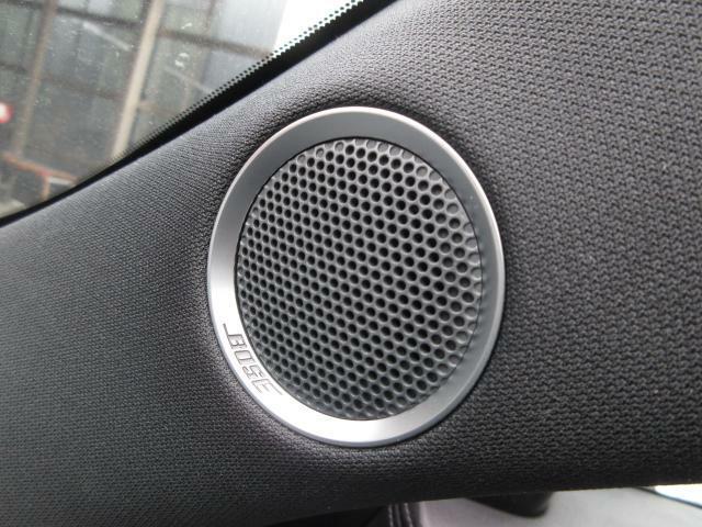 BOSEサウンドシステムを搭載しています。BOSE社と共同開発により車種専用チューニングが施されています。良質なサウンドでお好きな音楽をお楽しみください。