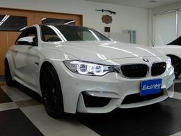 BMW M4クーペ M DCT ドライブロジック ガレージ保管車/禁煙車/フルオリジナル
