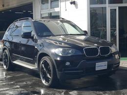 BMW X5 xドライブ 30i 4WD H&R ローダウン ツインナビ 22インチ
