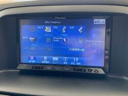フルセグ内臓のHDDナビ搭載。DVD再生、Bluetoothも対応可能です。