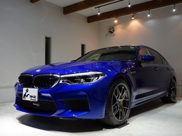 BMW M5 4.4 4WD Mカーボンブレーキ BBS鍛造RI-D 禁煙車