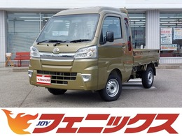 ダイハツ ハイゼットトラック 660 ジャンボ 3方開 4WD 届出済未使用車5速MT LEDライトLEDフォグ
