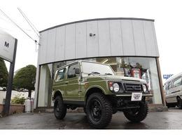 スズキ ジムニー 660 ランドベンチャー 4WD 全塗装仕上グリーン 社外前後バンパー