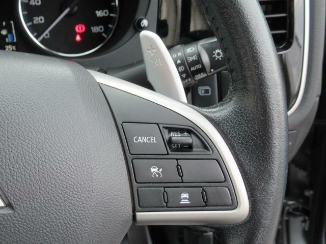 レーダークルーズコントロール マニュアルモード付き パドルシフト