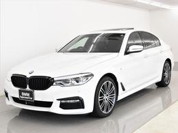 BMW 5シリーズ 540i xドライブ Mスポーツ 4WD SR 黒革 コンフォートP ACC Tビュー 19AW