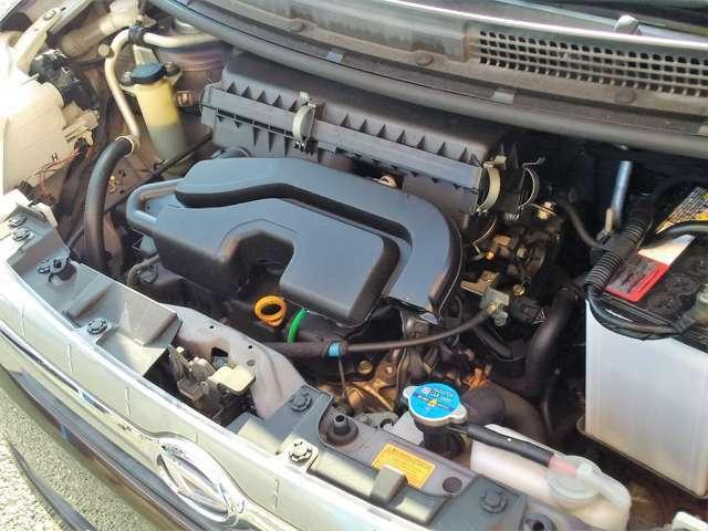 交換不要のタイミングチェーン駆動エンジン!きれいにクリーニング済です!!