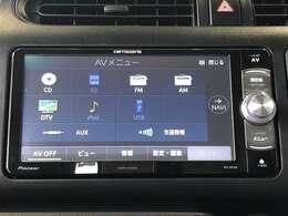 AM/FMラジオとCDチューナー、Bluetooth対応したナビゲーションです