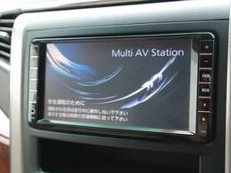 純正HDDナビゲーション。フルセグ・DVD再生、Bluetooth搭載♪