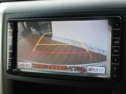 フルカラーバックビューモニター搭載。リアの映像がカラーで映し出されますので安心安全です。