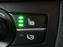 ●フロントシートヒーティング:運転席・助手席共に三段階で調節が可能なシートヒーターを装備しております。季節を問わず快適にご使用いただけます。