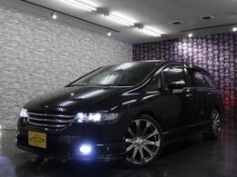 ホンダ オデッセイ 2.4 アブソルート HDDナビスペシャルエディション 4WD 社外19AW ローサス 黒革ハーフレザーシート