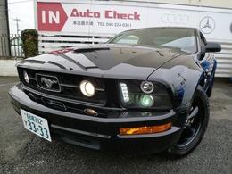 フォード マスタング V6 クーペ プレミアム HDDナビ キセノン Sマフラー ETC