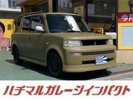トヨタ bBオープンデッキ 1.5 マッドグリーン自家塗装 新品マッドタイヤ