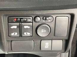 便利な両側電動スライドドアです。ON/OFF制御が可能なのでお子様がいるご家庭でも安心。運転席の他にキーレスでも開閉可能です。
