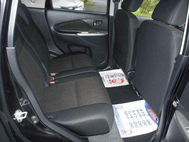 ☆後席シートは使用感も少なくとてもきれいな状態となっています☆