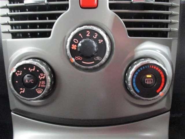 マニュアルエアコンは自分の思いのままに、温度、風量、吹き出し口を設定することが可能です!