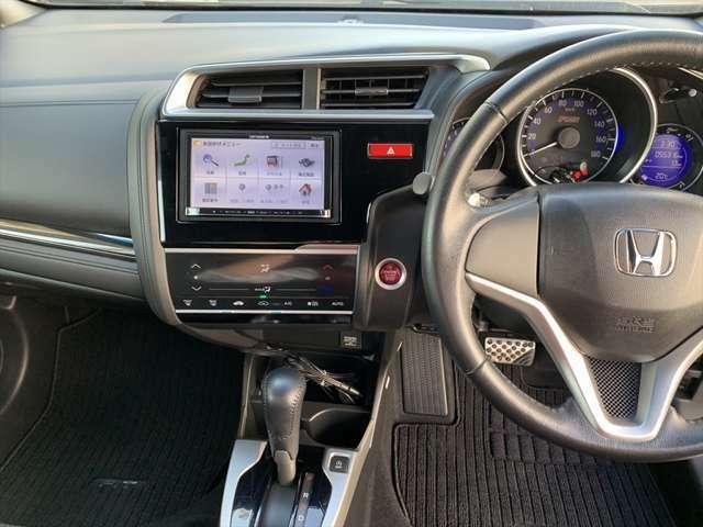HONDA車が初めてという方でも扱いやすくわかりやすいインパネ周りとスイッチ類です♪