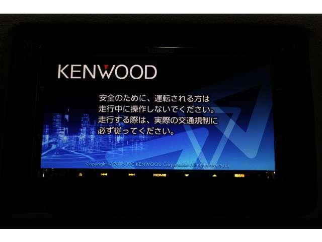 ケンウッドナビ フルセグTV付き Bluetooth USB対応 DVD再生できます