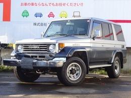 トヨタ ランドクルーザー70 4.2 ZX ディーゼル 4WD 寒冷地 サンルーフ 電動ウィンチ デフロ