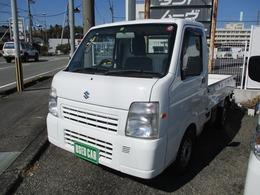スズキ キャリイ 660 FC エアコン・パワステ 3方開 4WD 5MT・高低二段切替4WD