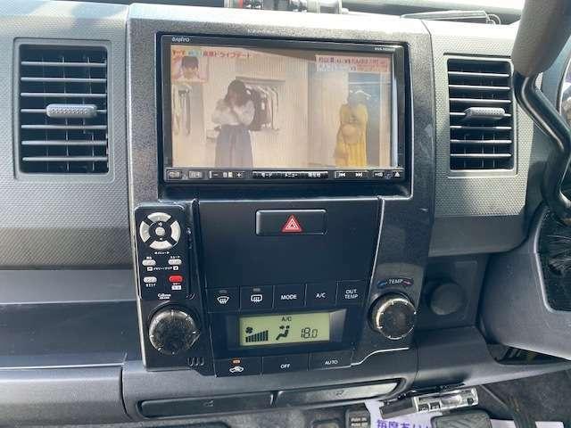 ワンセグTV、HDDナビ付