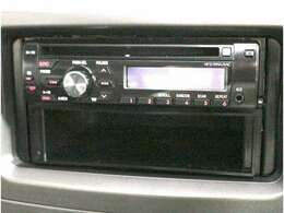 オーディオ!!CDで楽しめます。お好きな音楽を聞きながらドライブをお楽しみください。