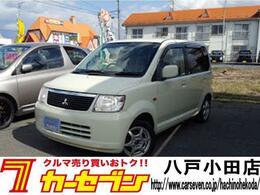 三菱 eKワゴン 4WD M 純正オーディオ マニュアル 社外アルミ