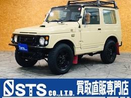 スズキ ジムニー 660 ランドベンチャー 4WD 全塗装 MTタイヤ ウッドステアリング