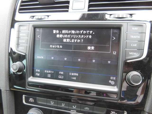 純正フルセグナビ CD、DVD再生、Bluetooth、バックカメラ