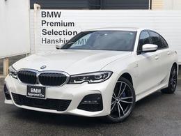 BMW 3シリーズ 330e Mスポーツ 認定保証1オナOP19AWブラックレザーACCLED