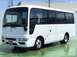 日産 シビリアン 4.5ガソリン車 SV 25人乗り 左スイング式オートドア 冷蔵冷凍庫