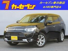 三菱 アウトランダーPHEV 2.0 G ナビパッケージ 4WD 1オ-ナ-急速充電パワ-バックドアシ-トヒ-タ