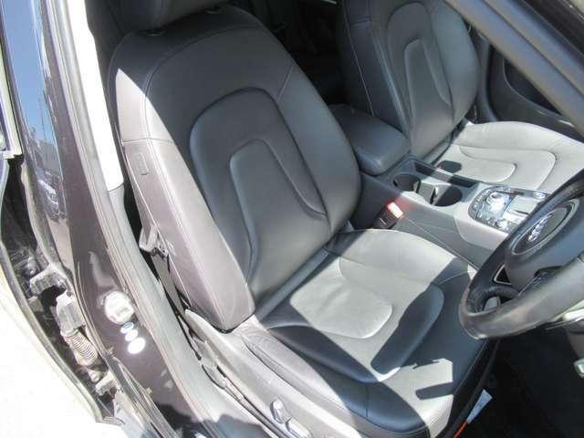 本革シート シートヒーター!運転席助手席共にシートヒーターを完備しております♪